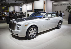 Rolls Royce Phantom Coupe white Stock Photography