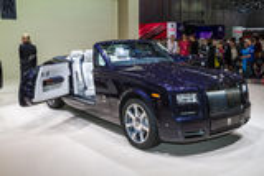 Rolls Royce Phantom Drophead Coupé  Royalty Free Stock Photo