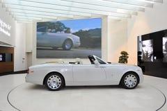 Rolls Royce Phantom Drophead Coupe on display in BMW Welt Stock Photo