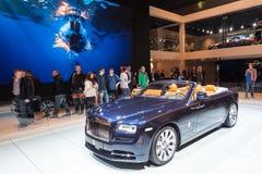 Rolls Royce Phantom Drophead Coupe en el IAA 2015 Fotos de archivo libres de regalías