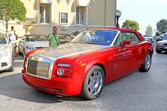 Rolls-Royce Phantom Drophead Coupe Stock Image