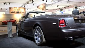 Rolls Royce Phantom Drophead Coupe stock video