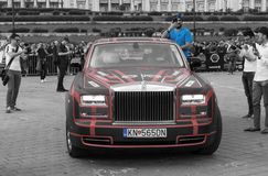 Rolls-Royce Phantom EWB - Gumball 3000 - 2016 Edition - Dublin to Bucharest Royalty Free Stock Photography