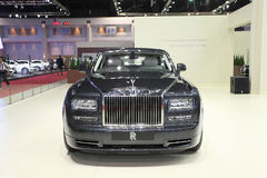 Rolls Royce Phantom Extended Wheelbase car on display Royalty Free Stock Photography