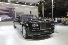 Rolls-royce, phantom extended wheelbase Royalty Free Stock Images