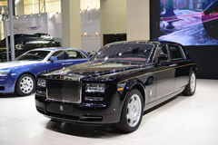 Rolls-Royce Phantom Stock Image