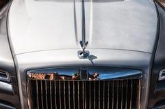 Rolls Royce Phantom i porto cervo Royaltyfri Fotografi