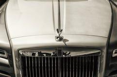 Rolls Royce Phantom i porto cervo Arkivfoton