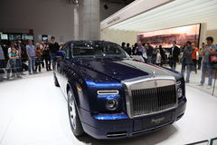 Rolls Royce Phantom at the IAA Stock Photography
