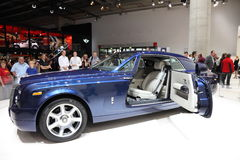 Rolls Royce Phantom at the IAA Stock Images