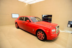 Rolls-Royce Phantom LWB Louis XIII Speciale Uitgave Royalty-vrije Stock Afbeelding