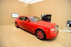 Rolls-Royce Phantom LWB Louis XIII specjalne wydanie Obraz Royalty Free