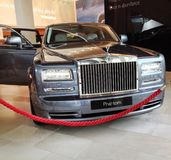Rolls Royce Phantom Royalty Free Stock Images