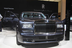 Rolls Royce Phantom Royalty Free Stock Photo