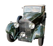 Rolls-Royce Phantom Royalty Free Stock Images