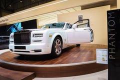 Rolls-Royce Phantom Serenity, Motor Show Geneve 201 Royalty Free Stock Photos
