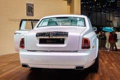 Rolls-Royce Phantom Serenity, Motor Show Geneve 201 Stock Photography