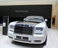 Rolls Royce Phantom serie 2 Stock Image