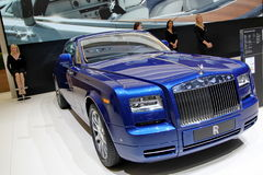 Rolls Royce Phantom serie 2 coupe Stock Images