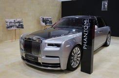 2018 Rolls-Royce Phantom an SIAB, Romexpo, Bukarest, Rumänien stockfotos