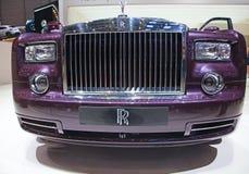 The Rolls Royce Phantom Spirit Royalty Free Stock Images