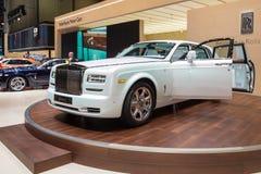2015 Rolls-Royce Phantom spokój Zdjęcie Stock
