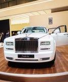 Rolls-Royce Phantom spokój, Motorowy przedstawienie Geneve 201 Zdjęcie Stock