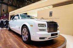 Rolls-Royce Phantom spokój, Motorowy przedstawienie Genewa 201 Obrazy Stock