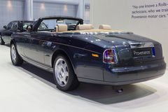 Rolls-Royce Provenance showed in Thailand the 37th Bangkok Inter Stock Photos