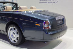 Rolls-Royce Provenance showed in Thailand the 37th Bangkok Inter Stock Image
