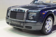 Rolls-Royce Provenance showed in Thailand the 37th Bangkok Inter Royalty Free Stock Photography