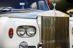 Rolls Royce - retro auto Stock Afbeelding