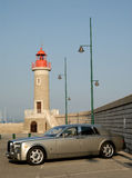 Rolls Royce in Saint Tropez, France Royalty Free Stock Photography