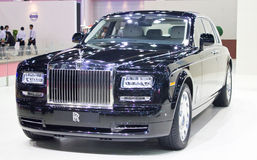 Rolls Royce samochód Na pokazie. Fotografia Royalty Free