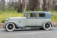 1932 Rolls Royce 20/25 sedan Royalty-vrije Stock Foto