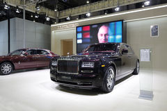 Rolls-royce showroon Royalty Free Stock Images