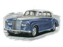 Rolls Royce Silver Cloud III Fotografie Stock Libere da Diritti