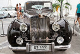 Rolls-Royce Silver Dawn 2,997 CC , Vintage cars Royalty Free Stock Photo