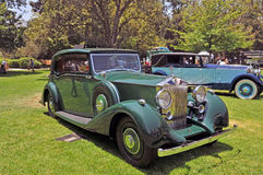 Rolls Royce Silver Wraith Fotografie Stock Libere da Diritti