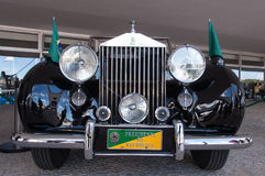 Rolls-Royce Silver Wraith. Brasilia, Brazil - June 7, 2015: Rolls-Royce Silver Wraith, a car being used by the President of Brazil at some national celebrations Stock Photo