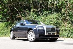 Rolls Royce spöke Arkivfoton