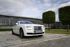 Rolls Royce spöke framme av den Goodwood växten på Augusti 11, 2016 i Westhampnett, Förenade kungariket Fotografering för Bildbyråer