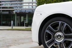 Rolls Royce spöke framme av den Goodwood växten på Augusti 11, 2016 i Westhampnett, Förenade kungariket Royaltyfria Foton
