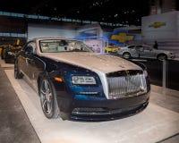 Rolls Royce vålnad 2014 Royaltyfri Foto