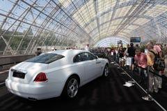 Rolls Royce vålnad på den auto mobila internationalen Royaltyfri Fotografi