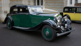 Rolls Royce velho clássico fotos de stock royalty free