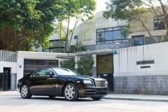 Rolls Royce-Verschijning Stock Afbeelding