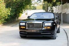 Rolls Royce-Verschijning vooraanzicht Stock Fotografie