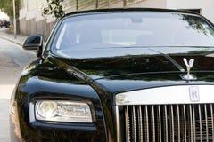 Rolls Royce-Verschijning voorlicht Royalty-vrije Stock Fotografie