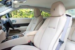 Rolls Royce-Verschijning voorzetel Stock Foto's